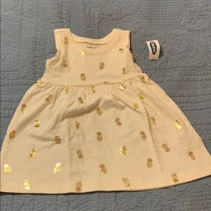 Old Navy tank dress for baby girl